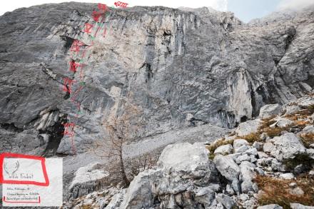 Gamsjoch Nordwand, Wilde Freiheit