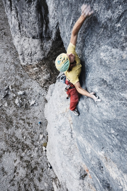 Benno in the crux of the first pitch.